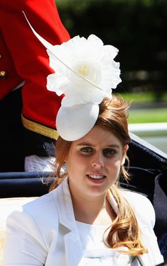 Princess Beatrice attends Ladies Day at the Royal Ascot June 2008