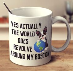 Your favorite drink will taste so much better with a funny or cute Boston Terrier design. High Quality Printed 11 oz Ceramic Mug Dishwasher and Microwave Safe! Design Printed On Both Front and Back Of
