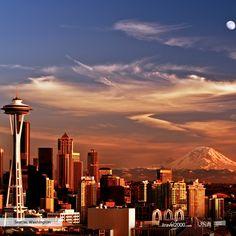Seattle, Washington  #itravel2000 #DiscoverAmerica