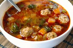Seafood Stew, Fish And Meat, Homemade Soup, Soups And Stews, Soup Recipes, Catering, Slow Cooker, Curry, Paleo