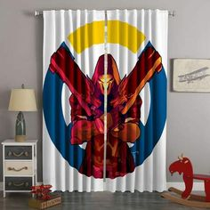 3D Printed Overwatch Style Custom Living Room Curtains 3d Curtains, Elegant Curtains, Double Curtains, Green Curtains, Custom Curtains, Bedroom Curtains, Curtain Designs, Vintage Patterns, Overwatch