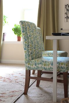 DIY parsons chair for home office