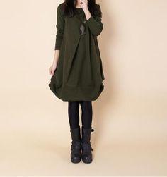 6682 # plissée automne robe de maternité , Plus la taille des vêtements pour les femmes enceintes hiver vêtements pour grossesse robes Roupa Gestante dans Robes de Produits pour bébés sur AliExpress.com   Alibaba Group