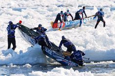 Have you ever heard of Ice Canoeing? If you've never been to Quebec's Carnaval de Quebec then probably not: http://www.prometour.com/wp-portal/20-reasons-why-you-need-to-visit-quebec-now-2-carnaval/