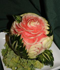 647-271-7971 Edible Flowers, Bouquets, Watermelon, Fruit, Eat, Healthy, Beautiful, Food, Bouquet