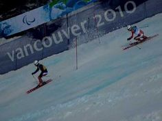 They have blind skiing in the Winter Paralympics. Just think about that for a second.