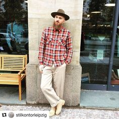 Our retailer Danny from Stilkontor - DE is wearing our boots. Still fresh and clean looking forward how they will age. Enjoy!