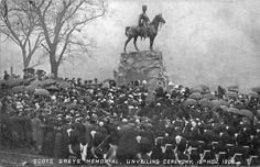 EDINBURGH, (BOER WAR), ROYAL SCOTS GREYS WAR MEMORIAL 1906
