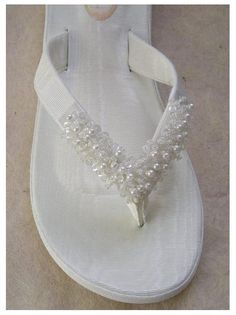 Just Married Bridal Flip Flops I Cant Wear Heels In The Sand And Also Any