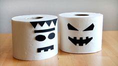 Manualidades en vídeo: Monstruo de papel higiénico para Halloween