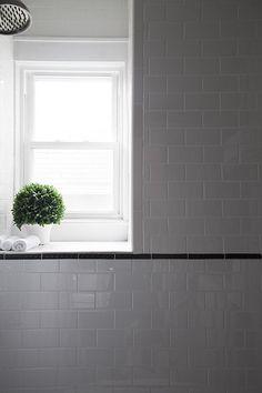 Topiary on a bathroom windowsill - Decoist