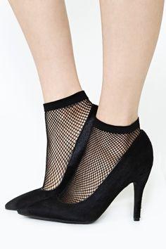 Vixen Fishnet Socks
