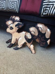Hey, I found this really awesome Etsy listing at https://www.etsy.com/listing/181028576/vulpix-pokemon-perler-craft