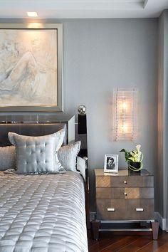 Modern master bedroom Jupiter Residence by Fava Design Group. #interior