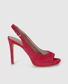 3bd3aab36d Peep toes de mujer de Gloria Ortiz de piel en fucsia Peep Toe, Pumps,