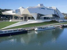Le Musée des Confluences a ouvert ses portes le 20 décembre 2014 © Quentin Lafont // Musée des Confluences