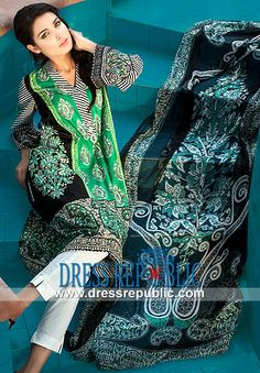 Deepak Perwani Zeniya Lawn Collection 2014 For Women  Lawn Dresses Buy Online: Deepak Perwani Zeniya Lawn Collection 2014 For Women in Washington, D.C. metropolitan area. by www.dressrepublic.com