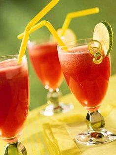 Pineapple-Watermelon Slush    Beat the heat with this refreshing fruit beverage recipe.