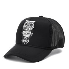 Owl Baseball Cap Base Ball b84dbef4ff18