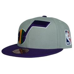 Utah Jazz Classic 2Tone Fitted Hat Josh liked it so I had to repin it so bdfcc4e92410