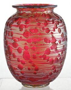 loetz glass vase