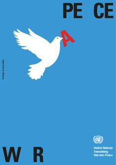 armando milani war peace united nations poster designculture