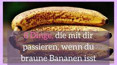 Auch wenn sie nicht mehr so lecker aussehen, sie sind auf keinen Fall ungesund. Braune Bananen bergen, laut neuesten Forschungen aus Japan, viele Vorteile.