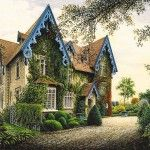 Chateau Gabriel exterior - At home with Yves Saint Laurent and Pierre Berge