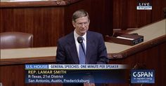 House Science Committee Chairman Lamar Smith (R-Texas) suggests people bypass the media and get their news 'directly from the president.'