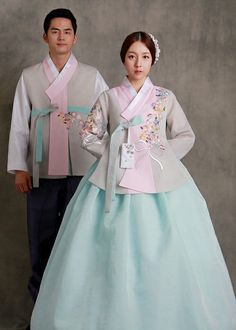 Korean Traditional Dress, Traditional Fashion, Traditional Dresses, Ethnic Fashion, Kimono Fashion, Asian Fashion, Hanbok Wedding, Ethereal Wedding Dress, Korea Dress
