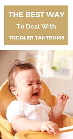 Best Way To Handle Toddler Tantrums #TemperTantrums #Parenting #parentingforbrain