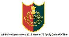 WB Police Recruitment 2015