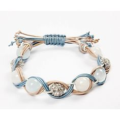 A Braided Bracelet with Beads