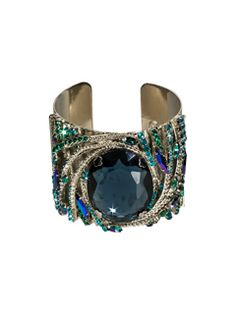 Galactic Cuff Bracelet in Emerald City by Sorrelli - $262.50 (http://www.sorrelli.com/products/BCK9ASEMC)