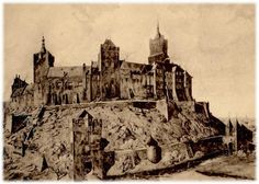 the Swan Castle in Cleveland, shortly after its completion. The exact date is not known, but is probably in the 11th century.  The castle hill on which the castle was built Swan, was ultimately named after the city. Since it was a cliff (then Cleef) came from Cleveland and later Kleve.