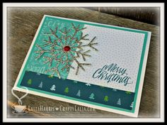 Crafty Lalia: City Sidewalks Holiday Card Workshop with CTMH Thin Cut Snowflakes Z4003