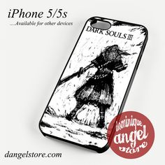 Dark Soul III Ready to Fight Phone case for iPhone 4/4s/5/5c/5s/6/6s/6 plus