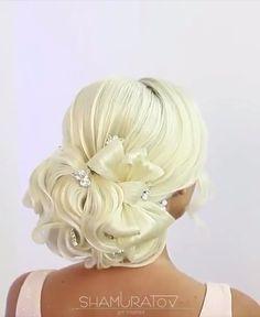 hairstyles for long hair videos Headband Hairstyles, Up Hairstyles, Wedding Hairstyles, Bridal Hair Buns, Hair Up Styles, Bridal Hair Inspiration, Long Hair Video, Natural Hair Tips, Hair Videos