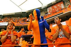 Syracuse Orange Fans #1