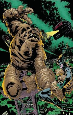Batman vs Clayface