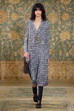 Tory Burch Marble Pleated Silk Georgette Dress
