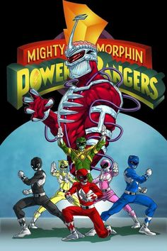Mighty Morphin Power Rangers! #SonGokuKakarot