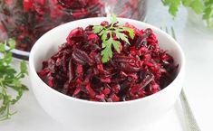 Sałatka z buraków | AniaGotuje.pl Polish Recipes, Tzatziki, Coleslaw, Soup And Salad, Cabbage, Favorite Recipes, Beef, Vegetables, Fruit