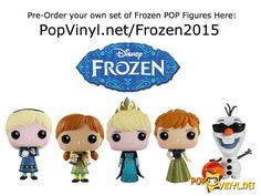 New Frozen Funko POP Vinyls Announced - Visit http://popvinyl.net/pop-vinyl-news/new-frozen-funko-pop-vinyls-announced/ for more information - #funko #popvinyl #Funkopop #funkoshop #toy #vinyl #bobblehead