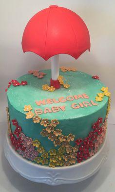 Umbrella Cake   Little Delights