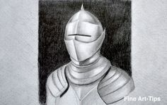 How to Draw an Armor - How to Draw Metal   #art #drawing #FineArtTips #armor #drawmetal  Take a look to my book here: http://www.artistleonardo.com/#!ebooks-english/cswd