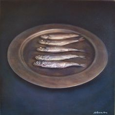 Kate Breakey: Still Life with Five Fish