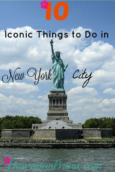 It's difficult to narrow down a list of top things to do in New York City to only ten.  I encounter something new and interesting every time I visit the city, but these are my all-time favorites.  Even better, you can see all of the sights below in a long weekend, and it's a wide variety of experiences to give you a great all-around trip. #NewYorkCity #TopTen #TravelBlog #Blog