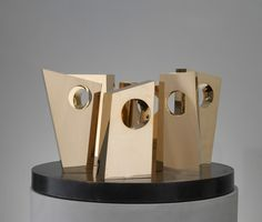 For Sale on - Six Forms on a Circle, Bronze by Dame Jocelyn Barbara Hepworth. Offered by Osborne Samuel Gallery. Abstract Sculpture, Wood Sculpture, Bronze Sculpture, Metal Sculptures, Abstract Art, London Art Fair, Anthony Caro, Royal Art, Barbara Hepworth