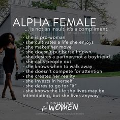 Alpha Female.